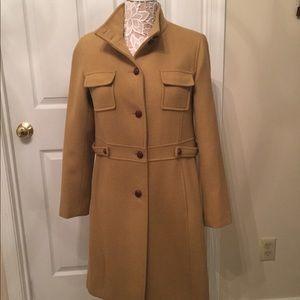 Jackets & Blazers - Camel wool coat
